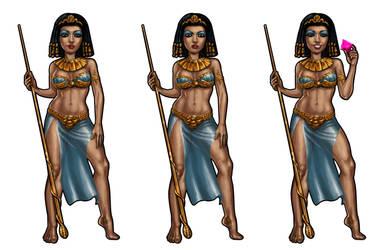 Cleopatra by Hungrysparrow