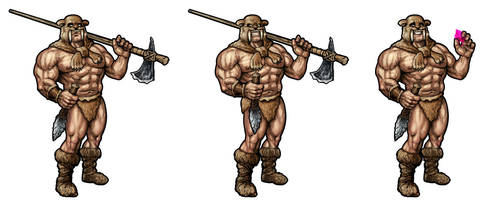 Caveman Boss by Hungrysparrow