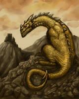 Flightless Dragon. by Hungrysparrow
