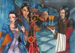 One night in Karazhan by Daisy-Pushing