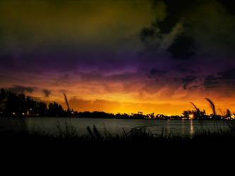 surreal sunset by abandonedmuse