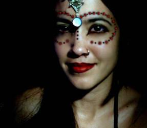 egyptian princess selfportrait by abandonedmuse