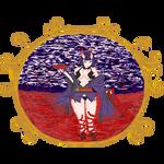 Shuten Douji Fanart FATE/GRAND ORDER pixel art by Maru-ttan