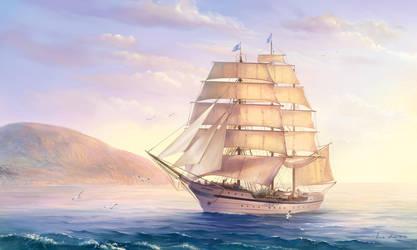 ship by anna-lakisova