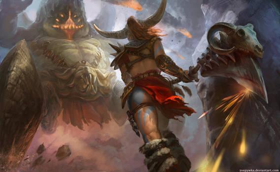 Barbarian by anna-lakisova
