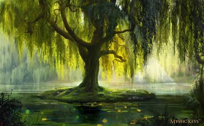 The Willow Bath by anna-lakisova