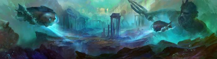 Atlantis Discovery by anna-lakisova
