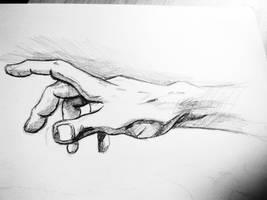 Hand Study by Ladybird101