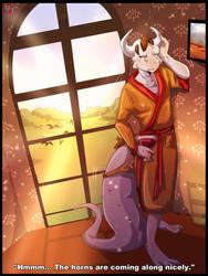 The Inheritance of a Lifetime [Anthro Dragon TF] by Vinomath