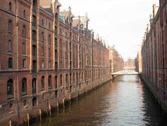 STOCK Speicherstadt Hamburg by Inilein
