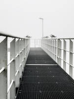 Fog Landingstage by Inilein
