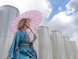 Kimono Lady by Inilein