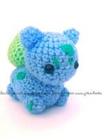 Bulbasaur amigurumi by Pikacheekz