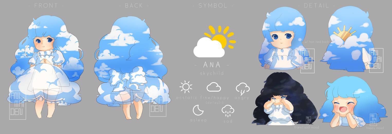 Ana refsheet (revamp) by animaiden
