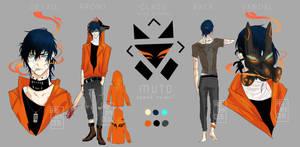 Muto refsheet by animaiden