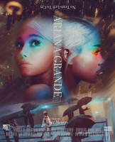 Ariana Grande - No Tears Left To Cry (Poster) by ninetyfour-graphics