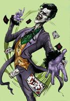 The Joker by missamericanpsycho