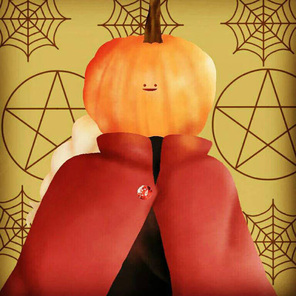 Edward Pumpkin Elric  by CooliooDoolioo