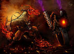ghost and rider by faisalart2006