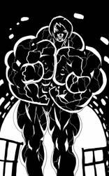 Muscles in the dark by blackkheart