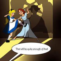 Alice Versus Wendy by tolemach