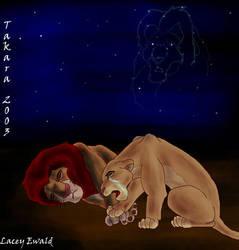 Sarabi Mourns her husband wooo by TaksArt