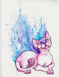 Pinkie Sphynxie by TaksArt