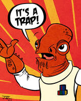 It's a TRAP by EnciferART