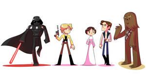 Star Wars! by EnciferART