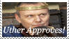 Uther Approves stamp by DragonHeartPrincess