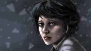 Eleven (Stranger Things!) by MsArtGarden