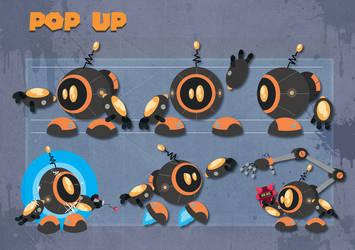 PopUp  robo- friend 2 by MichelVerdu