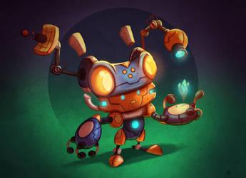 Explorer-bot by MichelVerdu