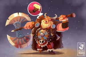 Bjorn, the Bear champion! by MichelVerdu