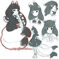 kitsune bonus by OOT-Link