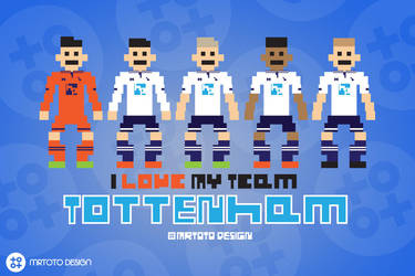 I Love My Team - Tottenham Hotspur by totoproduction