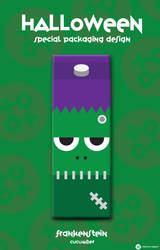 The Halloween Packaging Design - Frankenstein by totoproduction