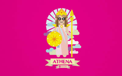 The Greek Mythology Character Design -  Athena by totoproduction