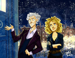 The Doctor And His Wife by Orchideacae