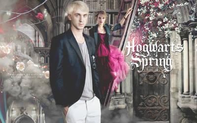 Hogwarts Spring by Kaylina