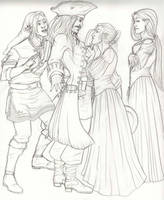 Introduction Line Art by AnnaCStansfield