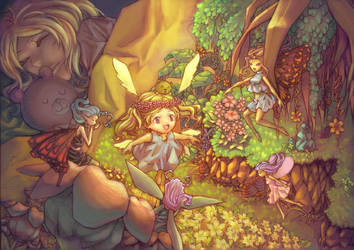 fairyland by Hooooon