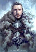 Jon Snow by Hooooon