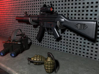 MP5A4 by TonyHarris