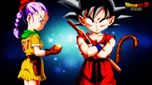 Bulma , Goku (DBZ) By DraDeK by DraDek