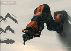 Robotic Arm by Sergey-Lesiuk