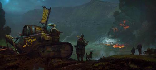 Mercenaries by Sergey-Lesiuk