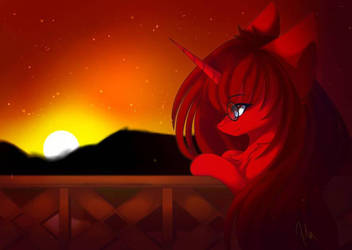 looking for the sunset by PrimaryLilyBrisk