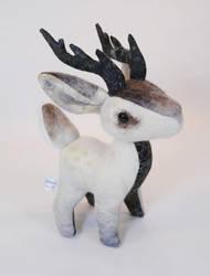 Snow Buck Plush by Lithe-Fider