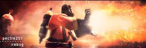 Firebug TF2 Pyro sig by spectre257